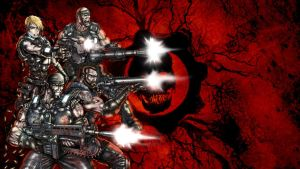 Gears of War Contest Entry by gtartwork