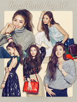 After School Nana Fossil png 6p by hyukhee05