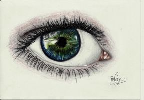 Eye's sketch by Raquelita-94