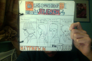Old comic book from high school 2 by gamemaster8910