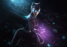 Catwoman by GFX-3ngine