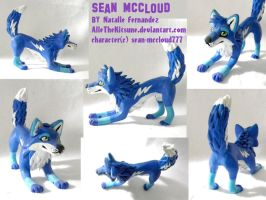 Sean McCloud sculpture by AlieTheKitsune