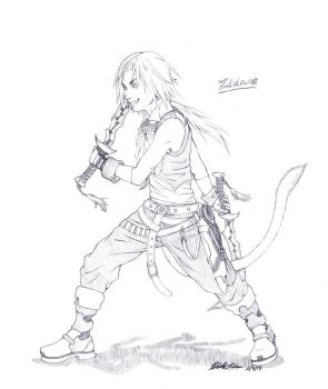 Zidane Sketch :PC: by NaikoPako