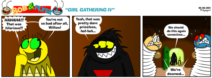 B'n'F - Girl Gathering IV by BluebottleFlyer