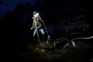 Long Exposure + Flash Gun 4 by adamjamescooper
