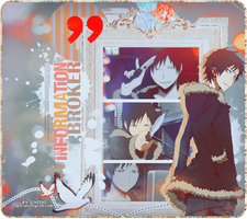 Izaya Orihara : Information broker by hanachanvongola