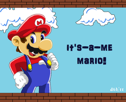It's a me Mario by Domestic-hedgehog