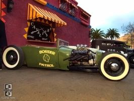 Border Patrol Hot Rod by Swanee3