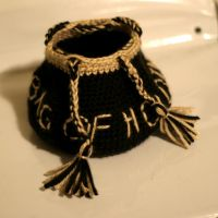 Dungeons and Dragon dice bag by Knitnutbyjl