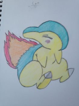 Cyndaquill by TheRealPonykun