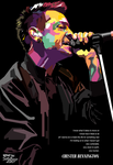 Chester Bennington in WPAP by setobuje