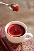 blood orange tea by sayra