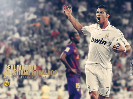 Cris Ronaldo Real Madrid Today by MostafaGFX