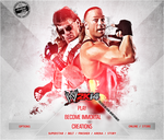 WWE 2K14 CUSTOM START MENU#1 by AccidentalArtist6511