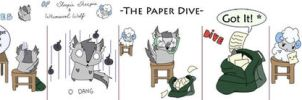 The Paper Dive by Forest-Sprite