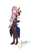 Fluttershy in Connor's Assassin Robes by AngelPony99