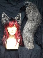 Adjustable Realistic Wolf Set by SilverWolfCostuming