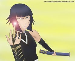 Soi Fon colour- Don't get so close by hinataconsuegra