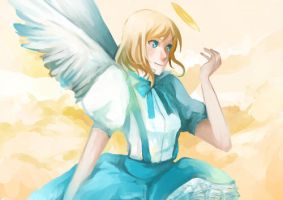 That girl in Heaven by cullets