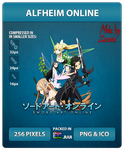 Sword Art Online (ALFHeim Online) - Anime Icon by Zazuma
