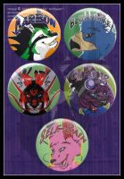 Button Badges Batch 2 by AirRaiser