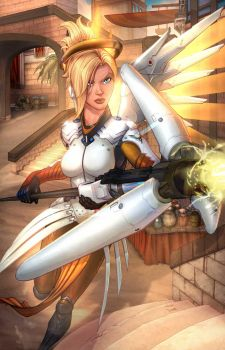 Mercy from Overwatch by cehnot