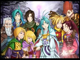 Golden Sun 1 y 2 by rebenke