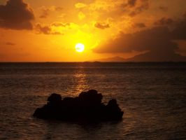 Sun in Tahiti by Mister-Frog