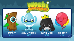 Moshi Monsters - The Elementies by Concore