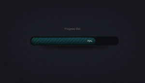 Progress Bar .psd by emrah-demirag
