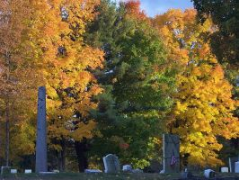 Autums Bright Grave by smoochum302