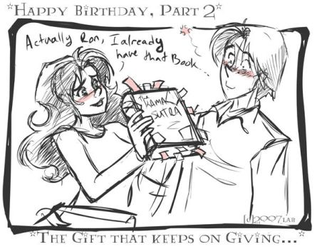 Happy Birthday Herm Pt 2 - HP by lberghol