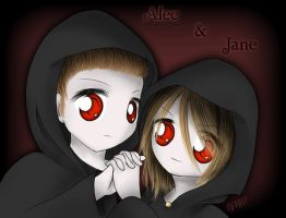 Alec and Jane - Volturi Twins by Rinoa-hime