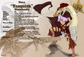 Vince 'Vanquish' Wintersmith by RoninsUltramix