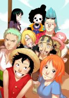 One piece! =3 by ThreeBerries