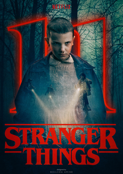 STRANGER THINGS Poster by Aminebjd