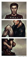 Men's Fashion speedpaintings by herrrox