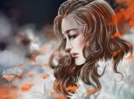 Sansa Stark: Winter has come. by Ze-RoFruits