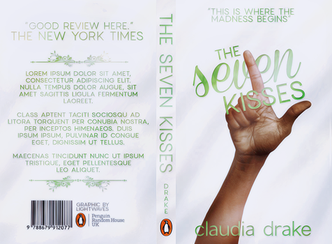 The Seven Kisses | Book Jacket by potatoo-xx