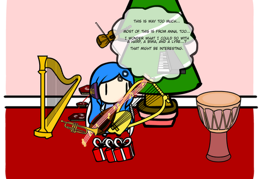 Phyrnna's Christmas by Nefer007