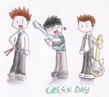 Aww, its Green Day by dongpeiyen1000
