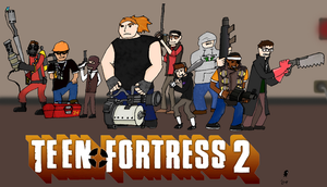 Teen Fortress 2 by Bleu-Ninja