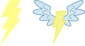 Wonderbolt insignias by The-Smiling-Pony