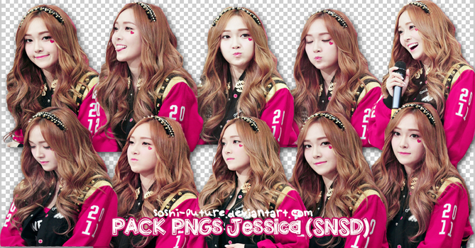 PACK PNGs Jessica ~ by Soshi-Future
