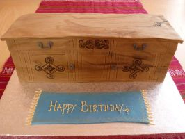 Sideboard Furniture Birthday Cake by Rebeckington