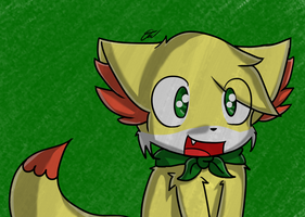 - PS - Desu Fennekin - 12 Desu new shading style by Tukari-G3