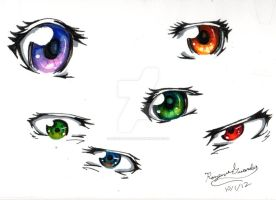 Eye color practice by Rozen-Guarde