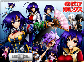 Kurokami Medaka Esta Bien (Color Version) by Kurogane-Raziel