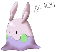 Pokemon 704 - Goomy by pikachu-jaune