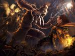 Scarecrow Attack by dangercook